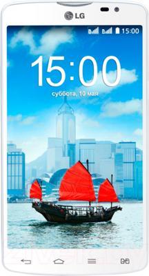 Смартфон LG L80 Dual / D380 (белый) - общий вид
