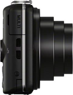 Компактный фотоаппарат Sony Cyber-shot DSC-WX220 - вид сбоку