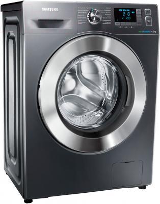 Стиральная машина Samsung WF60F4E5W2X/LP - вполоборота