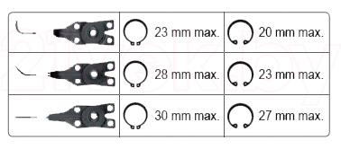 Съемник Yato YT-2130 - параметры