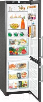 Холодильник с морозильником Liebherr CBNPbs 3756 - в открытом виде