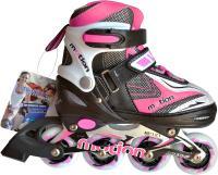 Роликовые коньки Motion Partner MP121S (S, Pink) -
