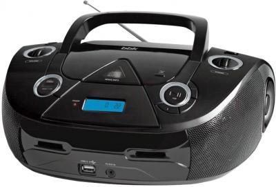 Магнитола BBK BX318U (Black) - общий вид
