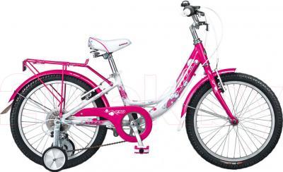 Детский велосипед Stels Pilot 230 Girl (Pink-White) - общий вид