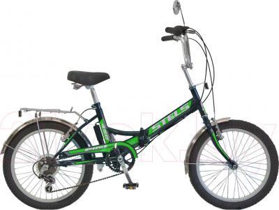 Велосипед Stels Pilot 450 (Dark Green) - общий вид