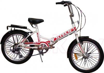 Велосипед Stels Pilot 450 (White-Red) - общий вид