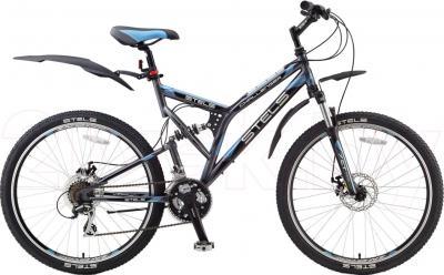 Велосипед Stels Challenger Disc (Gray-Blue) - общий вид