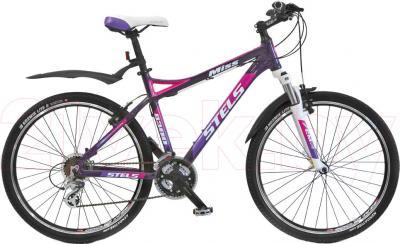 Велосипед Stels Miss 8300 (Purple-White) - общий вид