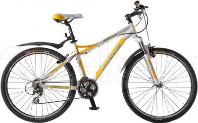 Велосипед Stels Miss 8500 (White-Yellow) - общий вид