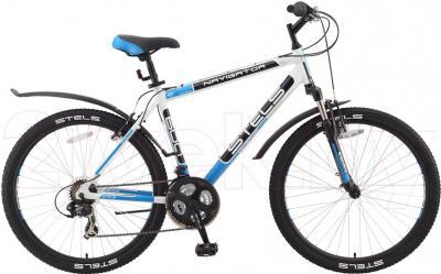 Велосипед Stels Navigator 600 (21, White) - общий вид