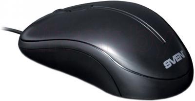 Мышь Sven CS-301 (черный) - общий вид