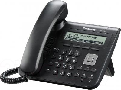 IP-телефония Panasonic KX-UT123RU-B - общий вид