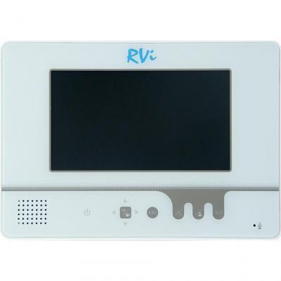 Видеодомофон RVi VD1 LUX W - общий вид