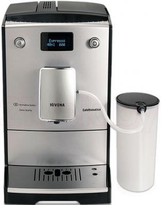 Контейнер для молока Nivona NIMC900 - подключение к кофемашине