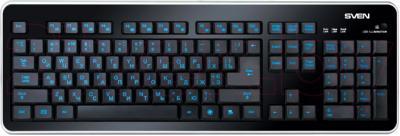 Клавиатура Sven Comfort 7400 EL - общий вид