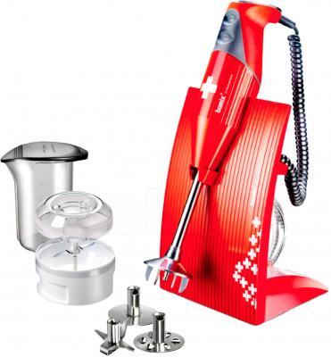 Блендер погружной Bamix M200 SwissLine (Red) - комплектация блендера