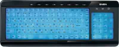 Клавиатура Sven Comfort 7200 EL - с подсветкой