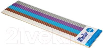 Цветной пластик для 3D ручки WobbleWorks 3Doodler ABS Meta Pack