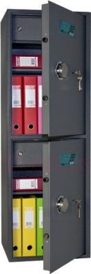 Мебельный сейф SAFEtronics NTL-62/62ME - с открытой дверью