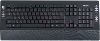 Клавиатура Sven Comfort 4200 (карбон) - общий вид