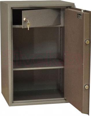 Мебельный сейф SAFEtronics 65М - с открытой дверью