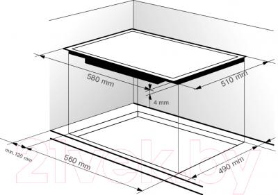 Электрическая варочная панель Zigmund & Shtain CNS 149.60 BX