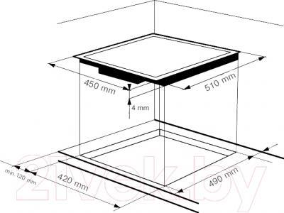 Электрическая варочная панель Zigmund & Shtain CNS 139.45 BX