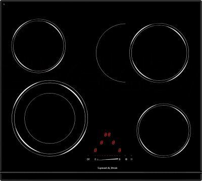 Электрическая варочная панель Zigmund & Shtain CNS 333.60 BK - общий вид