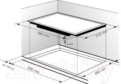 Электрическая варочная панель Zigmund & Shtain CNS 333.60 BK