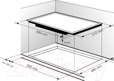 Электрическая варочная панель Zigmund & Shtain CNS 159.60 WX