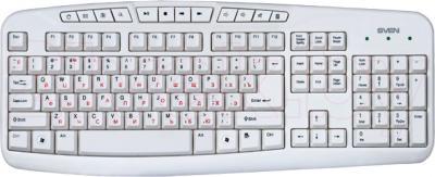 Клавиатура Sven Comfort 3050 (белый) - общий вид