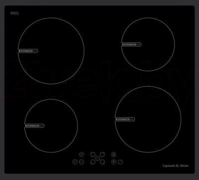 Индукционная варочная панель Zigmund & Shtain CIS 020.60 BX - общий вид