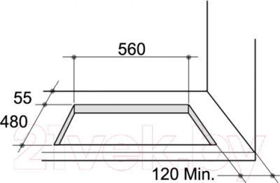 Газовая варочная панель Zigmund Shtain MN 114.61 W