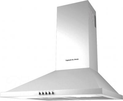 Вытяжка купольная Zigmund & Shtain K 127.61 W - общий вид
