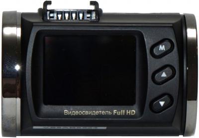 Автомобильный видеорегистратор Видеосвидетель 3510 FHD G (+ чехол) - дисплей