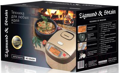 Мультиварка Zigmund & Shtain MC-DS 42 IH - коробка