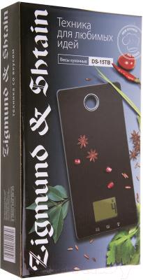 Кухонные весы Zigmund & Shtain DS-15 TB