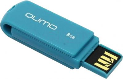 Usb flash накопитель Qumo Twist 8GB (Turquoise) - общий вид