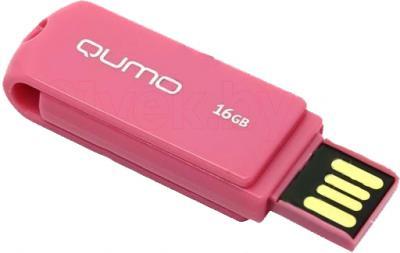 Usb flash накопитель Qumo Twist 8GB (Rosewood) - общий вид
