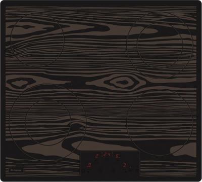 Электрическая варочная панель Hansa BHC63501 (Wood) - общий вид