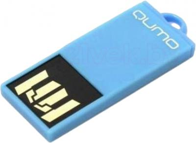 Usb flash накопитель Qumo Sticker 8Gb (Blue) - общий вид
