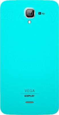 Смартфон Explay Vega (синий) - вид сзади