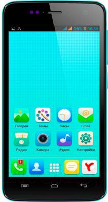 Смартфон Explay Vega (синий) - общий вид