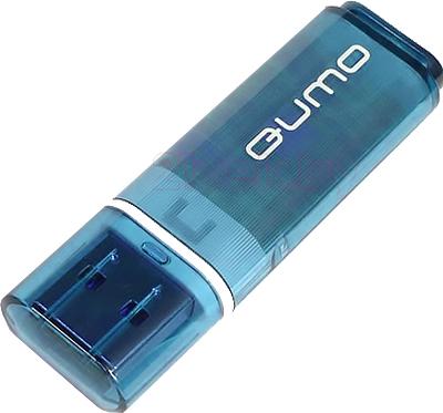 Usb flash накопитель Qumo Optiva 01 8GB (Blue) - общий вид