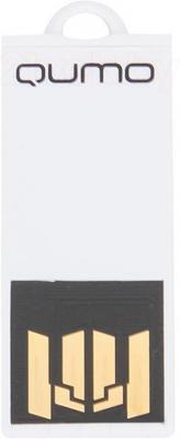 Usb flash накопитель Qumo Sticker 64GB (White) - общий вид