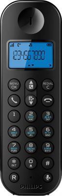 Беспроводной телефон Philips D1201B/51 - общий вид трубки