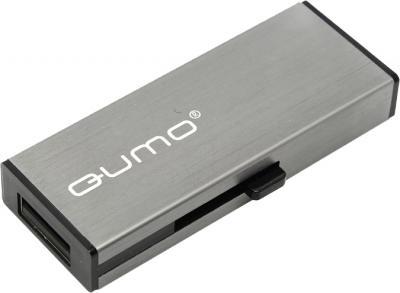 Usb flash накопитель Qumo Aluminium 64Gb (Gray) - общий вид