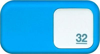Usb flash накопитель Qumo Silicone 32GB (Blue) - общий вид
