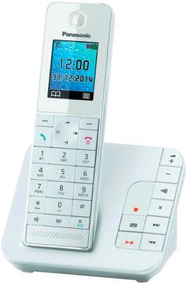 Беспроводной телефон Panasonic KX-TGH220RUW - общий вид