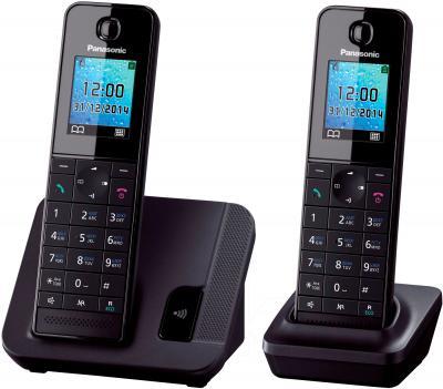 Беспроводной телефон Panasonic KX-TGH212RUB - общий вид